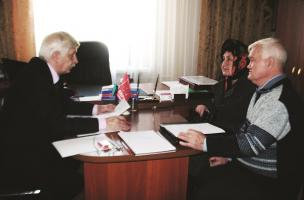 Депутат провел прием граждан в Борисовском районе