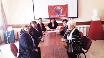 Женщины готовятся к Съезду