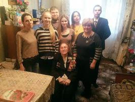 Встреча с участницей Сталинградской битвы