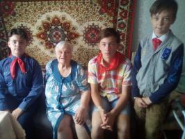 Ровесница Комсомола Александра Поддубная отмечает свой 100-летний юбилей