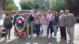 ВЖС «Надежда России» приняли участие в возложении цветов к вечному огню.